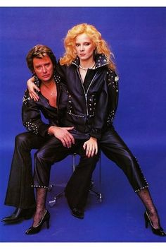 JOHNNY HALLYDAY SYLVIE VARTAN CUTTING/ COUPURE/ PHOTO 30X20CM
