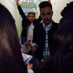 Liam and Niall last night... such cuties