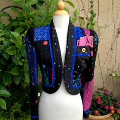 80s/90s Jeanne Marc Quilted Bolero Jacket Jeanne Marc Quilted Bolero Jacket. Excellent Condition. Size XS (4/6) but fits me perfect. jeanne marc Jackets & Coats