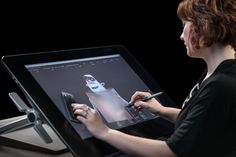 Dear God in heaven. Please help me to one day get one of these. Wacom Cintiiq DTK2700 12 g