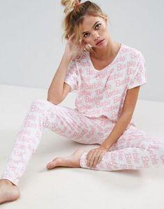 Пижамный комплект с леггинсами ASOS Barbie