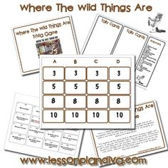 Where The WIld Things Are Free Trivia Game