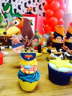 Topper docinhos Toy Story