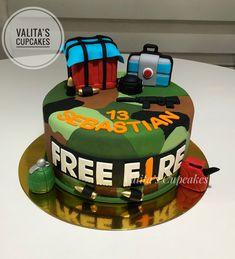 Fire Cupcakes, Fire Cake, Fire Party Ideas, Creative Birthday Cakes, Panda Cakes, Fondant, Free, Desserts, Design
