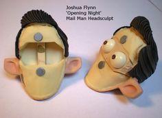 Joshua Flynn: Puppet Head Sculpt- Mail Man Part IV