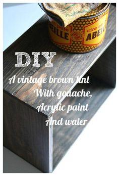 DIY Vintage Tint