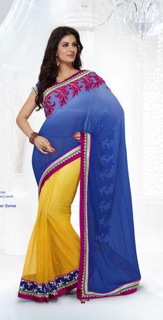 Pakistani Designer Sari Ethnic Bollywood Wedding Saree Indian Partywear 49% Off #KriyaCreation #DesignerSaree