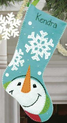 Cinco hermosas botas navideñas con moldes - Dale Detalles