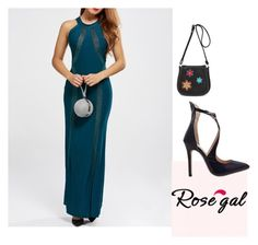 """""""My dream prom"""" by ahmetovic-mirzeta ❤ liked on Polyvore featuring rosegal, mydreamprom and lovewoman"""