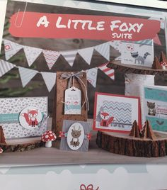 A little foxy suite Stampin' Up