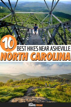 10 of the Best Hikes in Asheville North Carolina Located alongside the Blue Ridge Mountains and the Appalachian Trail Asheville is surrounded by some of the best hiking i. Asheville North Carolina, North Carolina Hiking, North Carolina Mountains, Blue Ridge Mountains, Nc Mountains, Appalachian Trail, Appalachian Mountains, Ashville Nc, Las Vegas