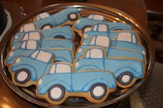 Little blue truck birthday party!