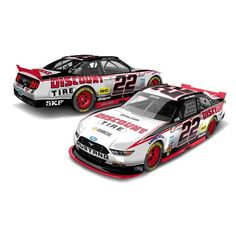 #22 Joey Logano 2016 Discount Tires 1/64 NASCAR Diecast Car Ford Mustang