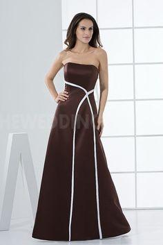 Satin Strapless Classic Bridesmaids Dresses - Order Link: http://www.theweddingdresses.com/satin-strapless-classic-bridesmaids-dresses-twdn5356.html - Embellishments: Beading; Length: Floor Length; Fabric: Satin; Waist: Natural - Price: 102.8377USD