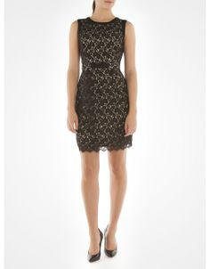 Sleeveless lace dress - Cocktail dresses - Jacob - perfect for the holidays @Boutique JACOB and #JACOBGIFTS