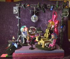 """Gina & The Skelatones"" by Gina Maseratti. 2015 Smallest Parade"