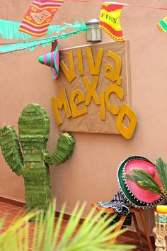 Fiesta #mejicana de cumpleaños www.cosasdemaruja.es