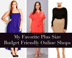 GarnerStyle | The Curvy Girl Guide: My Favorite Plus Size Budget Friendly Online Shops