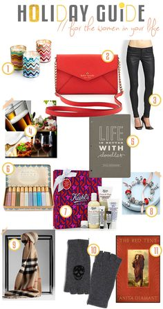Gift Guide // for Wo