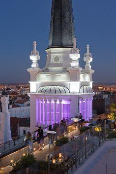 #Spain #Madrid / Plaza de Santa Ana / Hotel Tryp