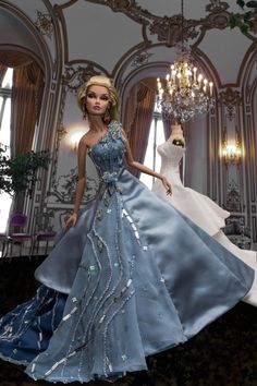 16inch Poppy Parker wearing 'Aurora' one-of-a-kind