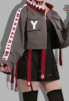 Cosplay Costumes For Sale, Cosplay Outfits, Edgy Outfits, Teen Fashion Outfits, Cute Casual Outfits, Cosplay Style, Casual Clothes, Kawaii Clothes, Kawaii Fashion