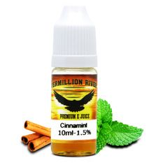 Cinnamint - Fresh Mint meets Cinnamon!  http://www.ecigwizard.com/e-liquid/vermillion-river/cinnamint.html