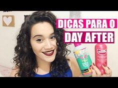 DICAS PARA O DAY AFTER - CABELO CACHEADO/ONDULADO - YouTube