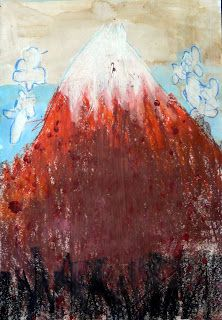 les petites têtes de l'art: Le Mont Fuji du mercredi (Hokusai)