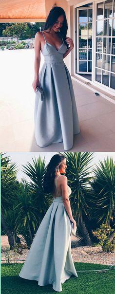 Spaghetti Straps Prom Dress,Long Prom Dresses,Prom Dresses,Evening Dress, Evening Dresses,Prom Gowns, Formal Women Dress,prom dress