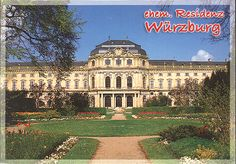 Wurzberg Castle – one of the largest and most beautiful in Germany and surrounded by wonderful gardens – was created under the patronage of the prince-bishops Lothar Franz and Friedrich Carl von Schönborn. It was built and decorated in the 18th century by an international team of architects, painters (including Tiepolo), sculptors and stucco-workers, led by Balthasar Neumann.