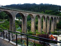 Rail train bridge, Vouzela #Portugal