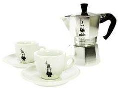 Espressokeitin 3 + 2 kuppiparia moka express
