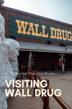 Wall Drug is a famous road side attraction located in South Dakota US. If you are driving through the area the signs will most defiantly get your attention. Check out this post to see all Wall Drug has to offer. Usa Travel Guide, Travel Usa, Travel Guides, Travel Tips, Travel Destinations, Travel Abroad, Travel Advice, Wall Drug, Road Trip Usa