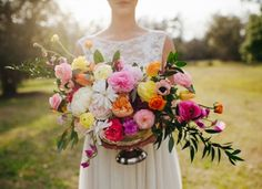 the most beautiful, vibrant blooms | Ever Thine Events
