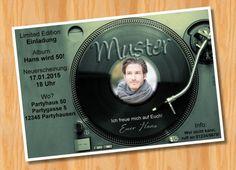 Originelle+Foto+Einladungskarten+zum+Geburtstag+++von+Ausgefallene+Fotokarten+auf+DaWanda.com