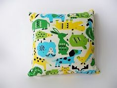 Vintage Fabric Pillows: by Emi Elias of Coucou from Buenos Aires, Argentina