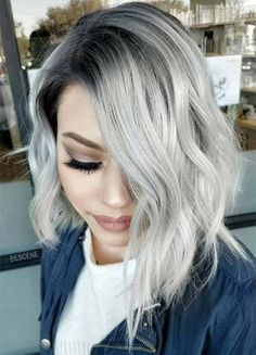 Hottest 11 Ways To Maintaining the Ideal Platinum Silver Hair Color
