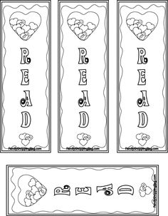 Mother's Day Bookmarks & Coloring Sheet {Free Printable