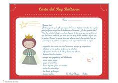 Carta de los Reyes Magos para descargar