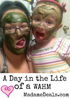 A Day in the Life of a Work at Home Mom http://madamedeals.com/mom-work-from-home/ #inspireothers