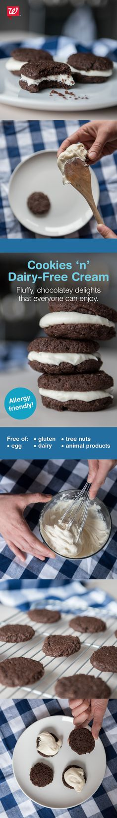 Make your favorite chocolate and frosting cookie at home! (Plus—it's dairy and gluten free!)