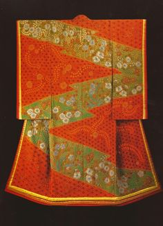 Tortoiseshell-Pine Park (2001) by the Late Japanese textile artist Itchiku Kubota(1917-2003) form the exhibition,Kimono as Art: The Landscapes of Itchiku Kubota, Canton Museum of Art in Canton, Ohio