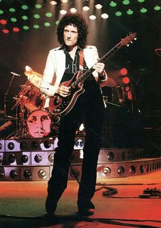 Brian May, one of the greatest guitarists of all time.