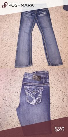 Cute jeans! Ariya jeans, size 15/16. Cute detailing on back pockets. In great condition. Ariya Jeans Boot Cut
