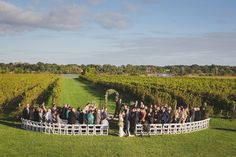 Romantic Saltwater Farm Vineyard Wedding | Maler Photography | Stonington, CT |  Reverie Gallery Wedding Blog