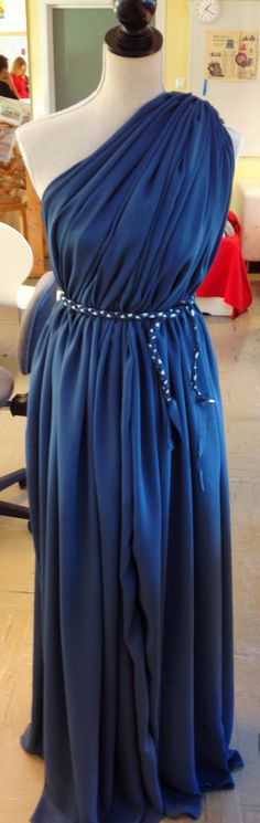 Finished greecian dress