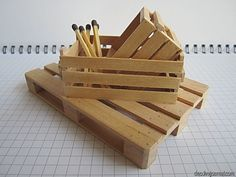 How To Tutorial for mini pallet, crates… would look great hanging on the wall as a towel (or ur choice of items) storage box or w/ fruit, Tators or plants, etc… add ur choice to them! Unending possibility uses!