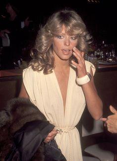 Farrah Fawcett, 1977: Six-time nominee Farrah Fawcett flaunted her signature locks at the Golden Globes in 1977.
