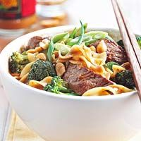 Spicy Beef-Noodle Bowl Recipe